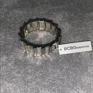BCBG Brand new silver bracelet